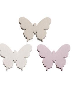 Rayher Holzstreuer Schmetterlinge