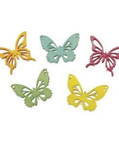 Rayher gelaserte Holzstreuer Schmetterlinge