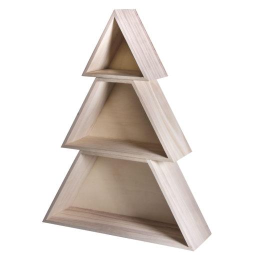 Weihnachtsbaum aus Holz, zum Dekorieren