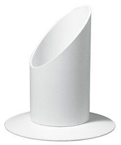 Kerzenhalter 40mmØ in weiß, zur Deko