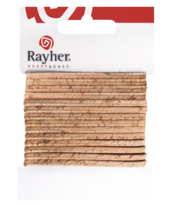 Rayher flaches Kork-Band, 150cm, in natur