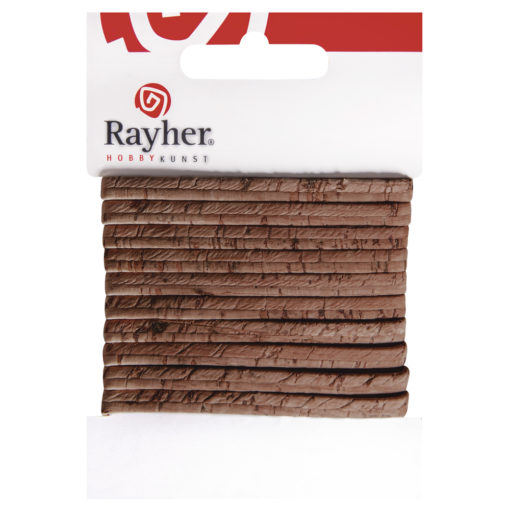 Rayher flaches Kork-Band, 100cm, in haselnuss