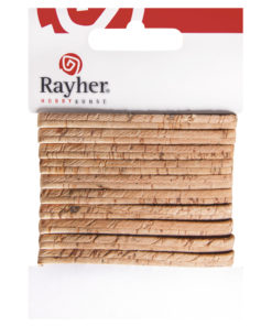 Rayher flaches Kork-Band, 100cm, in natur