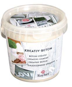 Rayher Betongießpulver zum kreativen Gestalten
