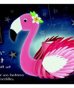 Ursus Laternen-Bastelpackung, Flamingo