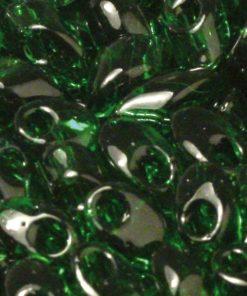 Magatama Perlen, transparent, zur Schmuckherstellung