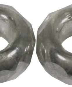 Glas Großloch Schliffperle, 13mm zur Schmuckherstellung