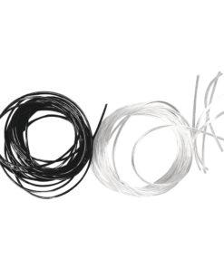 Strech-Faden, 0,5 mm Ø, schwarz, 2 m