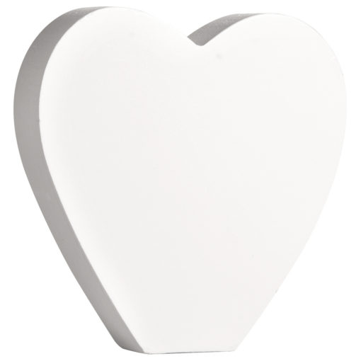 Rayher Pappmaché-Herz in weiß