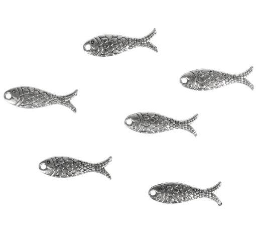 Metallanhänger Fische