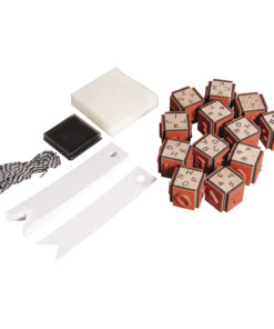 Rayher Mini-Holzstempelset ABC