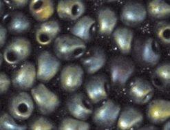 Miyuki Perlen Drop, metallic, gefrostet, zur Schmuckherstellung