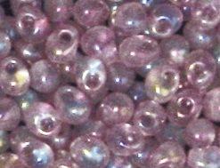 Miyuki Perlen Drop, transparent, gefrostet, zur Schmuckherstellung
