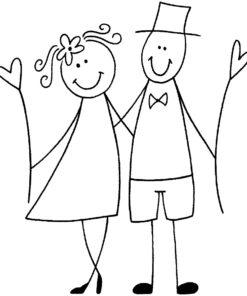 Rayher Stempel Hochzeit