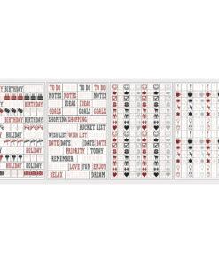 Rayher Sticker, Symbole für Scrapbooking und Planer