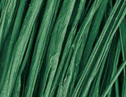 Viskosebast zum Basteln in dunkelgrün