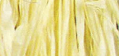 Viskosebast zum Basteln in gelb