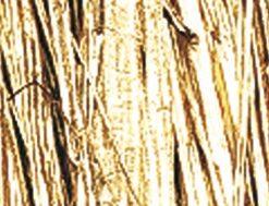 Viskosebast zum Basteln in gold