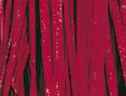 Viskosebast zum Basteln in rot