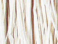 Viskosebast zum Basteln in weiß