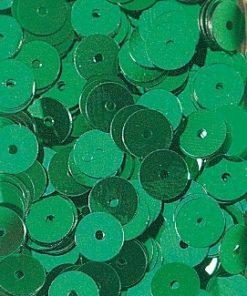 Pailletten zum Aufnähen, irisierend in blaugrün