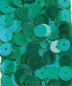 Pailletten zum Aufnähen, irisierend in jade