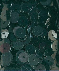 Pailletten zum Aufnähen, irisierend in schwarz