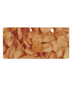 Papier Blütenblätter in orange