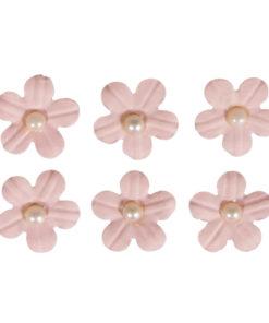 Rayher Papier-Blütenmischung rosa