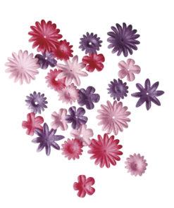 Rayher Papier-Blütenmischung pink