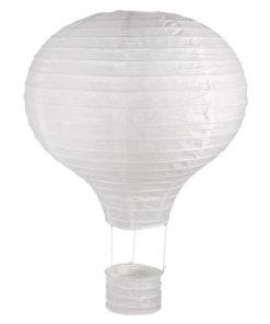 Papierlampion Heißluftballon, 30cm ø