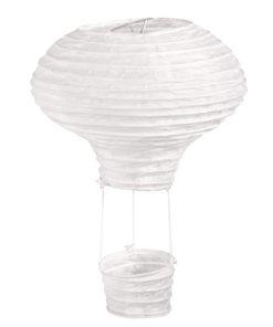 Papierlampion Heißluftballon, 15cm ø