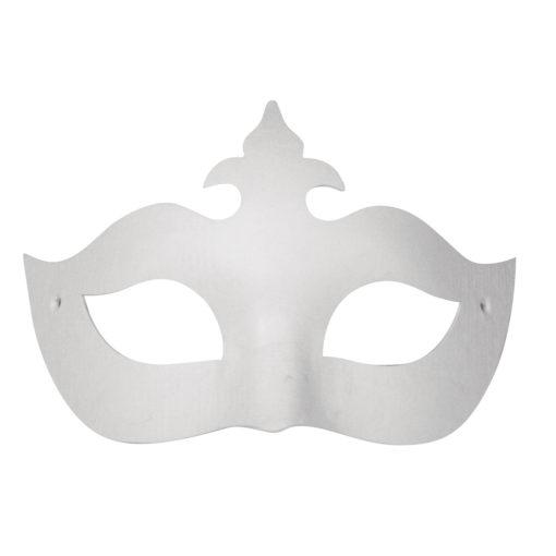 Rayher Pappmaché Augenmaske mit Krone, zum Dekorieren