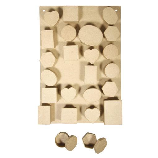 Rayher Pappboxen Adventskalender-Set, zum Gestalten