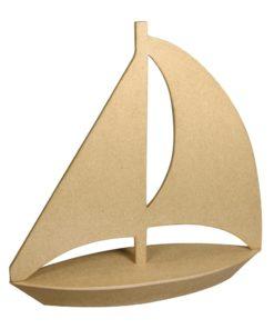Rayher PappArt Segelboot zum Basteln und Dekorieren