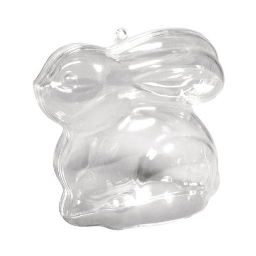 Rayher Plastik-Hase, 9 cm, zum Gestalten