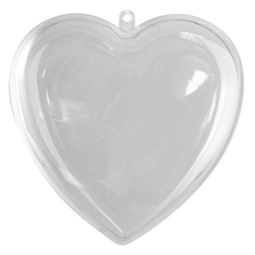 Rayher Plastik-Herz, 140mm, zum Gestalten