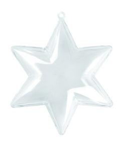 Plastikform Stern 100mm, zum Gestalten