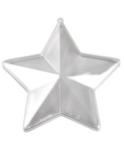 Plastikform Stern 80mm, zum Gestalten