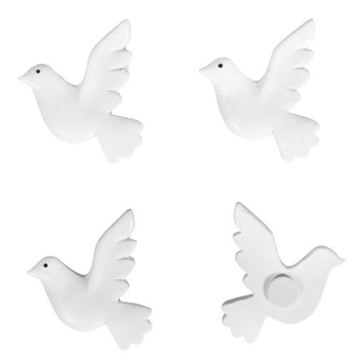 Tauben aus Polyresin