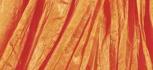 Rayher Bast matt, orange