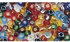 Rocailles mit Silbereinzug zur Schmuckgestaltung, gemischt