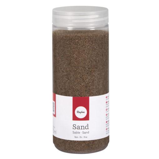 Deko Sand fein in mokka