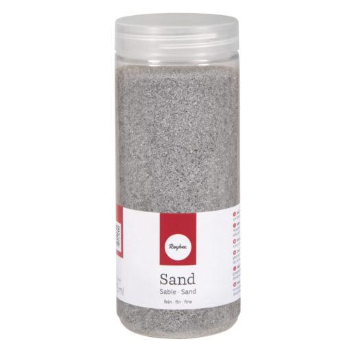 Deko Sand fein in silber