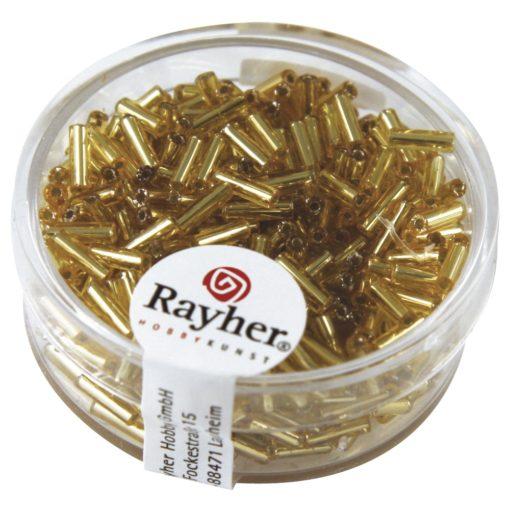 Glasstifte mit Silbereinzug zur Schmuckherstellung in gold