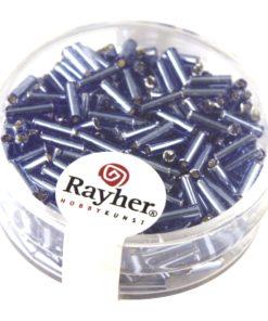 Glasstifte mit Silbereinzug zur Schmuckherstellung in hellbau