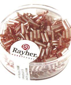 Glasstifte mit Silbereinzug zur Schmuckherstellung in rosé