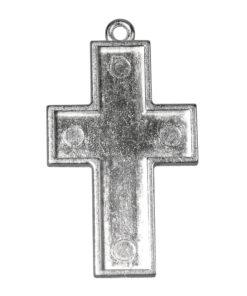 Kreuz mit Öse zur Schmuckherstellung