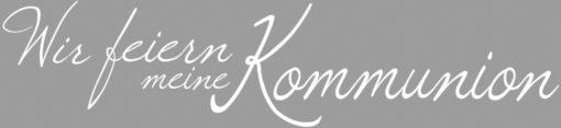 Rayher Schriftstempel Kommunion