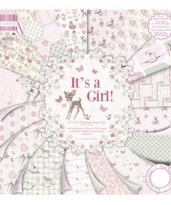 Scrapbooking Block It's a girl